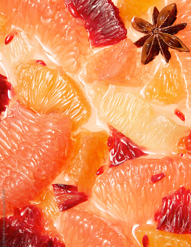 citrus and star anise by Naoko Kakuta for Stocksy United