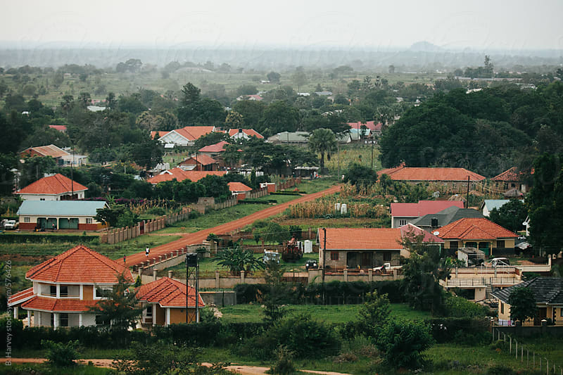 Small Town in Uganda by B. Harvey for Stocksy United