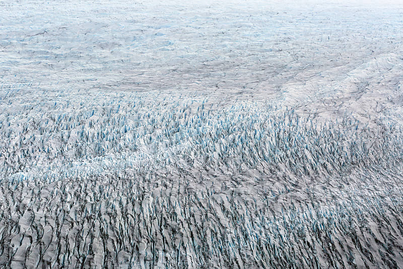 Abstract Background of Southern Ice field in Magellan Region and Chilean Antarctic   by Jovana Milanko for Stocksy United