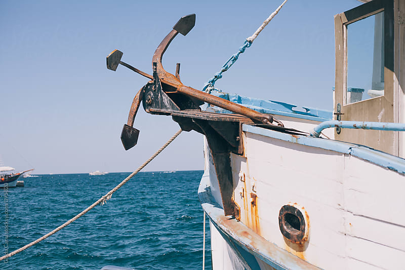Fishing boat by Giada Canu for Stocksy United