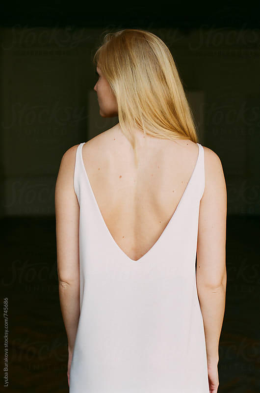 Back view of the young woman by Lyuba Burakova for Stocksy United