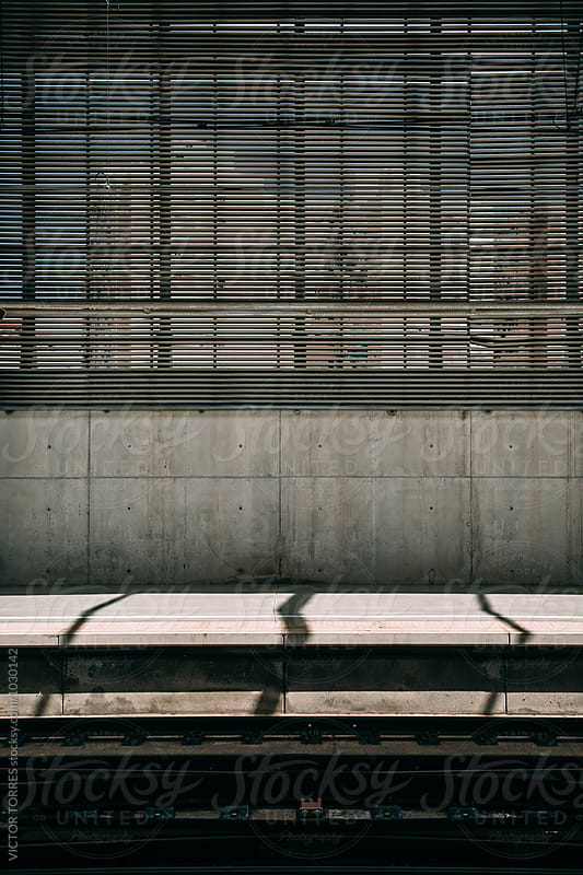 Empty Railway Platform by Victor Torres for Stocksy United