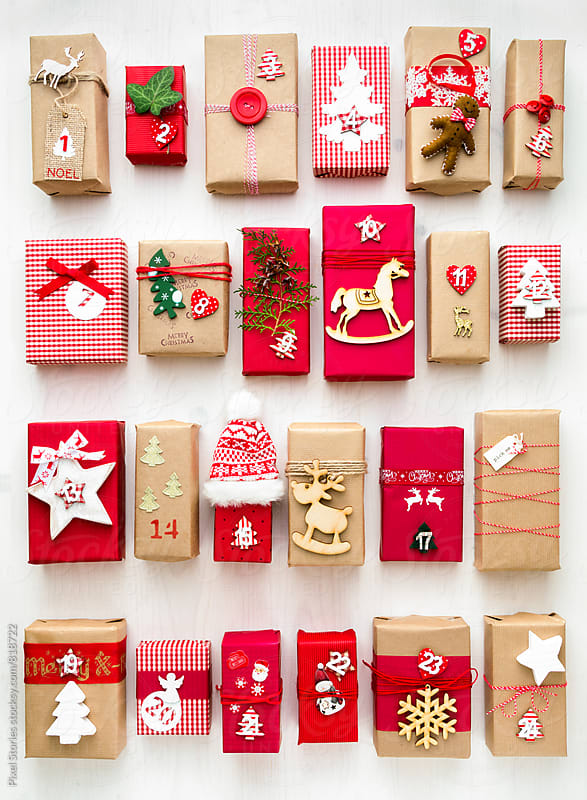 Christmas advent calendar by Pixel Stories for Stocksy United