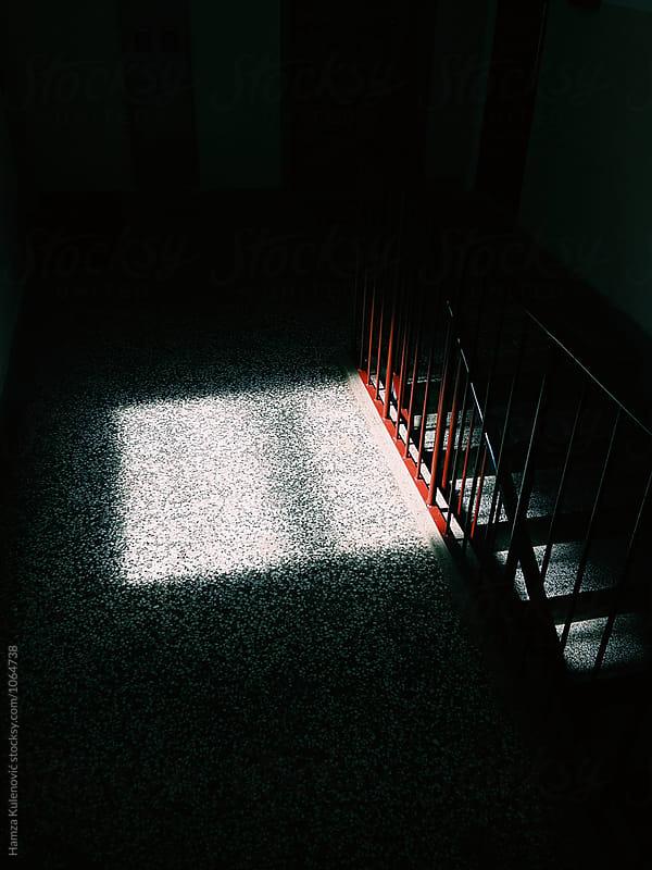 Photo of shadows in hall by Hamza Kulenović for Stocksy United