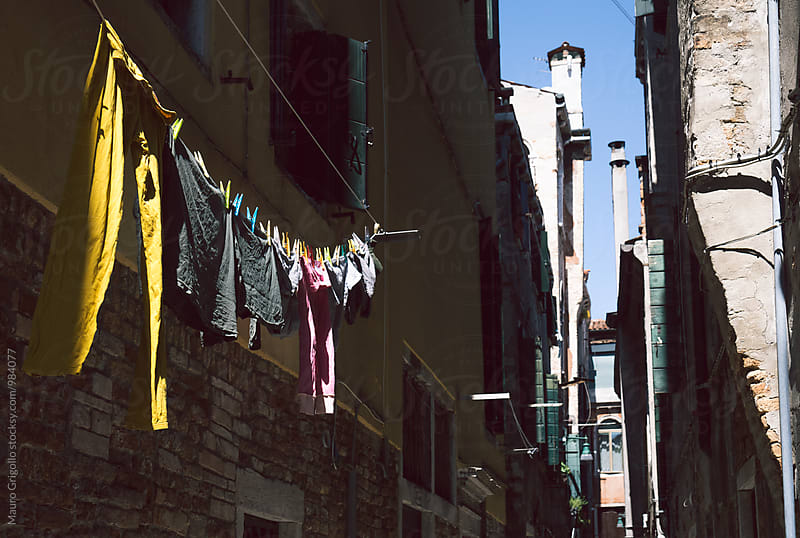 Alley in Venice. Italy. by Mauro Grigollo for Stocksy United