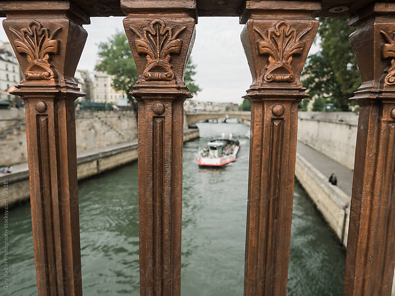 Seine River near Notre Dame by Gary Radler Photography for Stocksy United