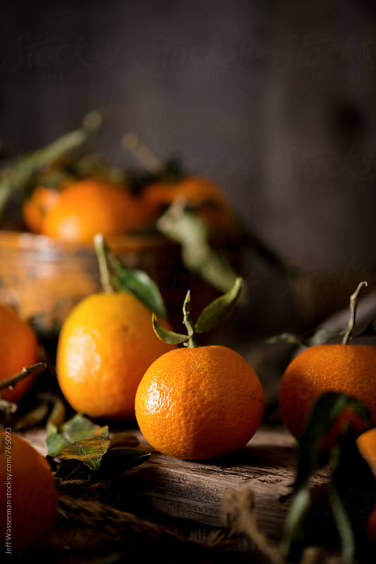 Mandarin Oranges Still Life by Jeff Wasserman for Stocksy United