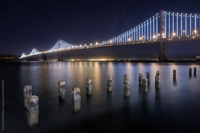 San Francisco Bay Bridge by Casey McCallister for Stocksy United