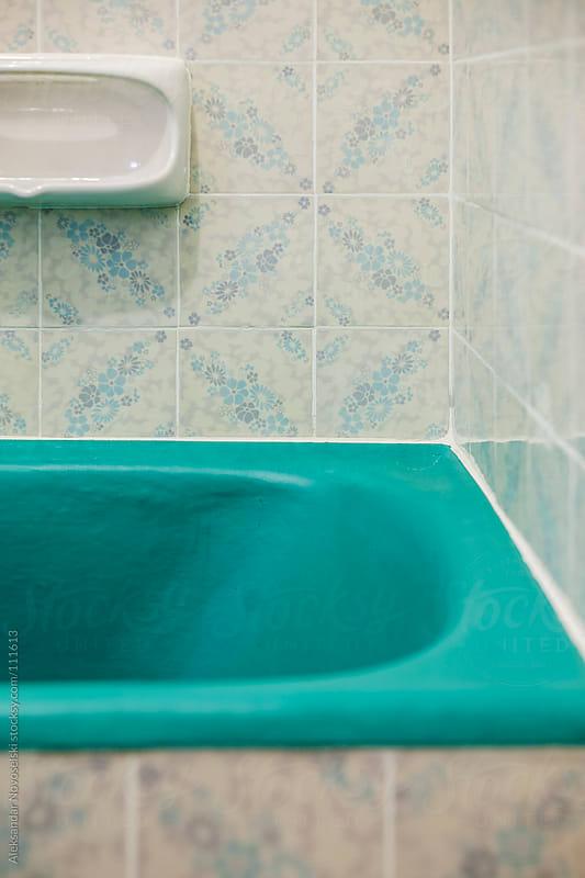 Bathroom detail by Aleksandar Novoselski for Stocksy United