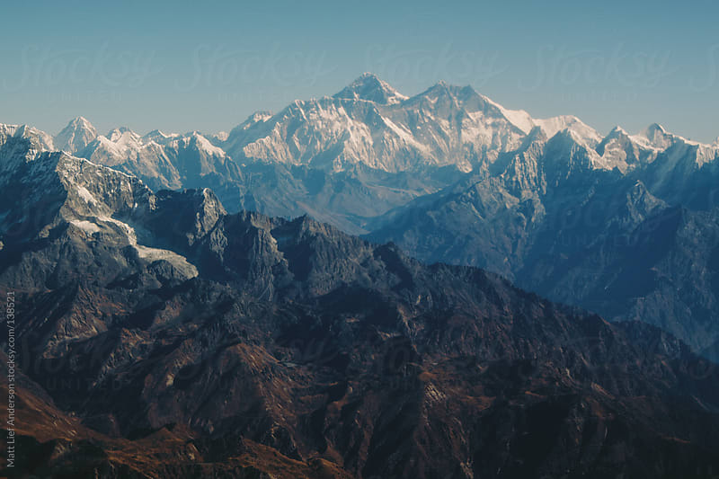 Mt Everest by Matt Lief Anderson for Stocksy United