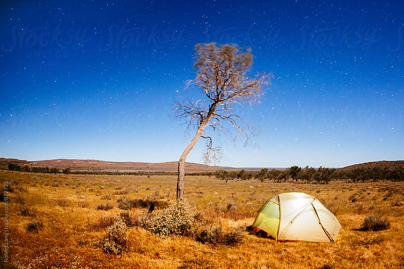 Camping in Australia by Robert Lang for Stocksy United