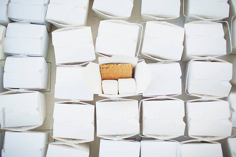Marshmallow and graham cracker by Jeff Marsh for Stocksy United