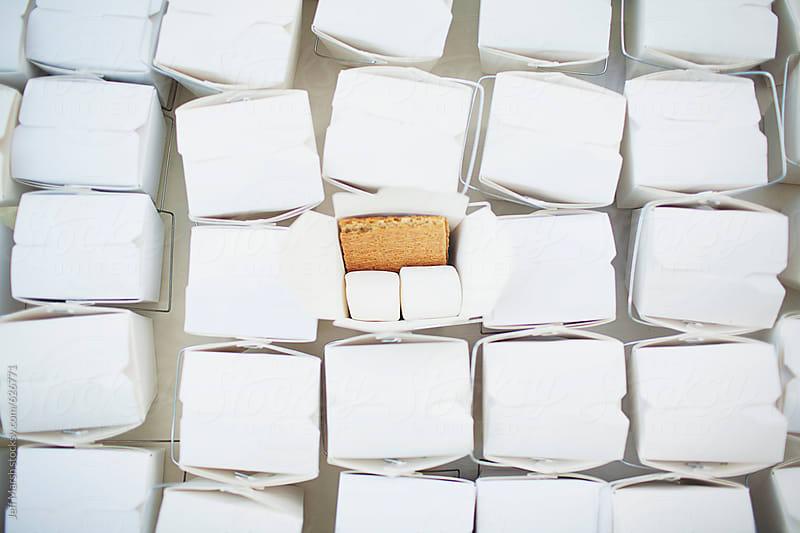 Marshmallow and graham cracker by Jeff Marsh for Stocksy United