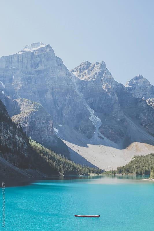Moraine Lake by Luke Gram for Stocksy United