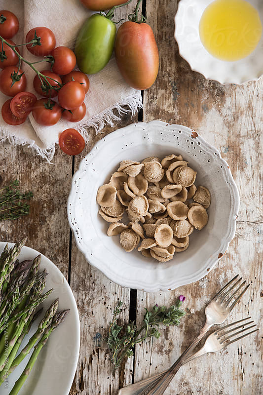 orecchiette pasta by Ivan Solis for Stocksy United