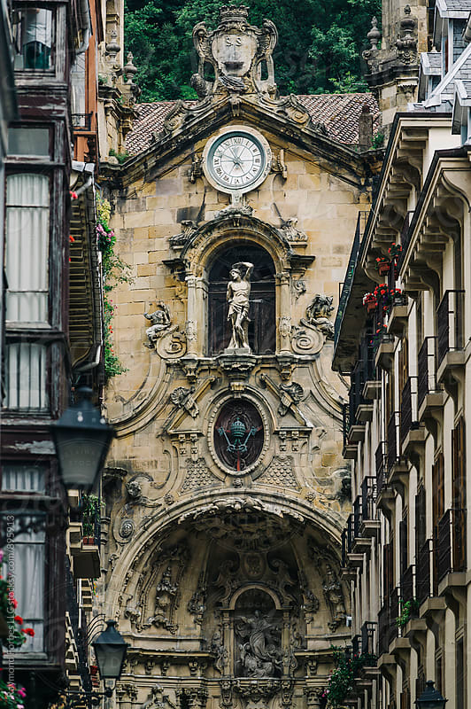Old Town Donostia, San Sebastian, Spain by Raymond Forbes LLC for Stocksy United