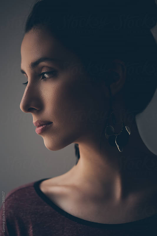 Portrait of an Elegant Young Woman by Lumina for Stocksy United