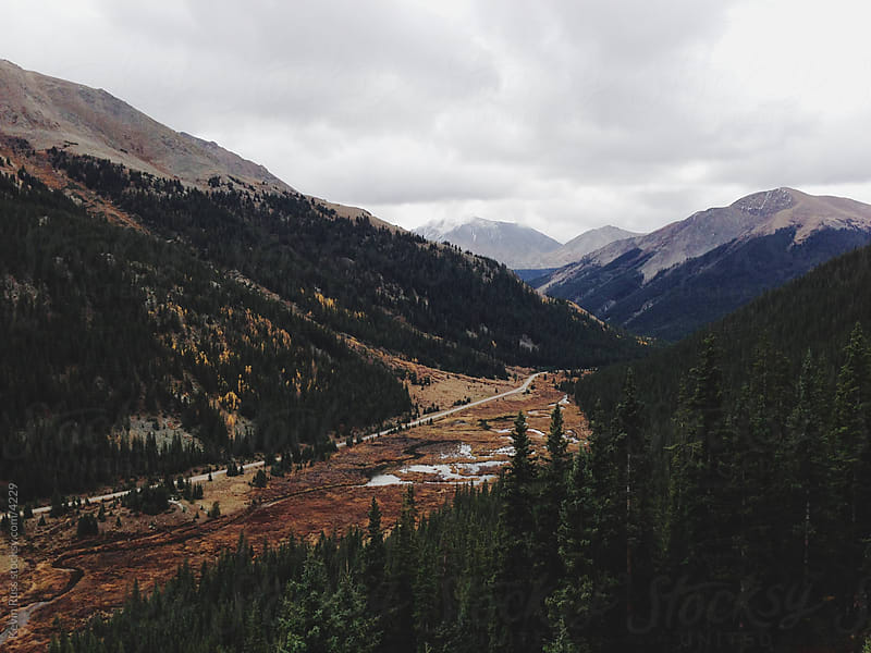 Rocky Mountain Pass by Kevin Russ for Stocksy United