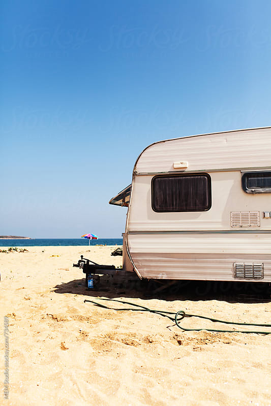 caravan by MEM Studio for Stocksy United