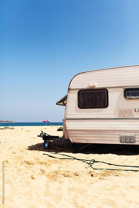 caravan by MEM Studio for Stocksy United