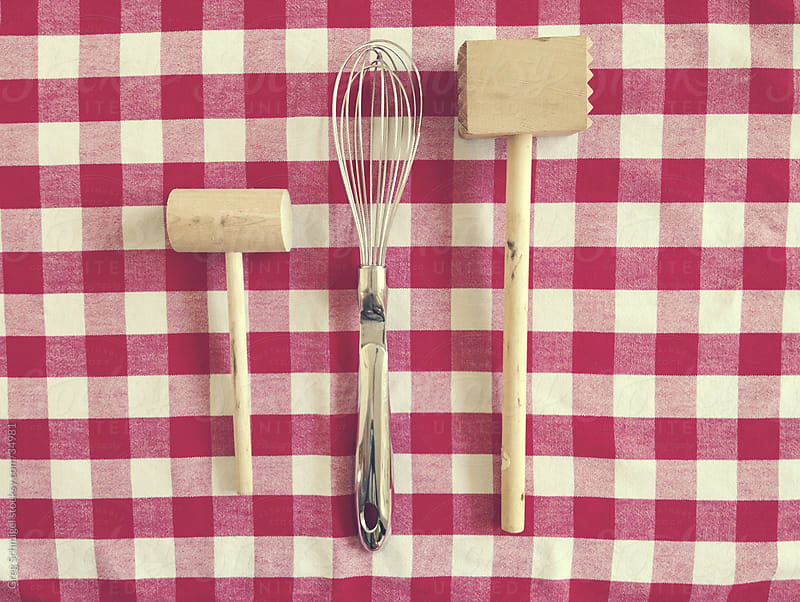 Various kitchen utensils and tools by Greg Schmigel for Stocksy United