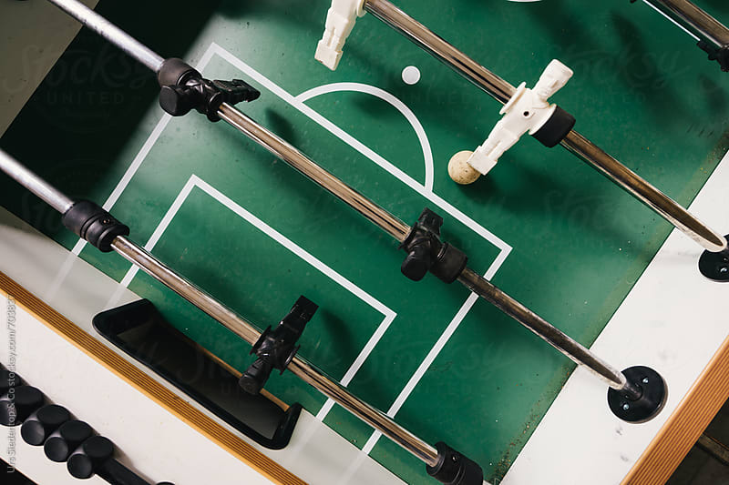 Table football offensive by Urs Siedentop & Co for Stocksy United
