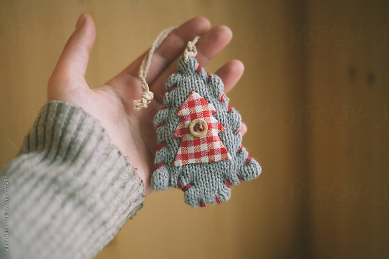 Handmade christmas tree by Giada Canu for Stocksy United