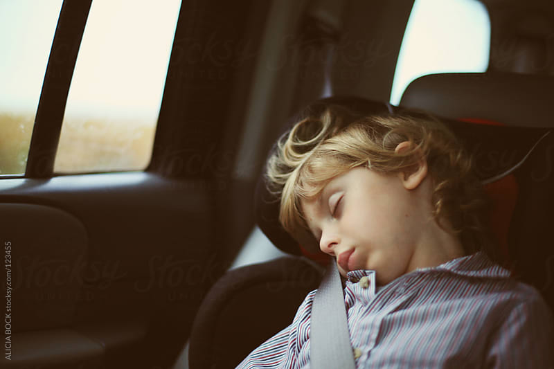 Sleeping Boy by ALICIA BOCK for Stocksy United