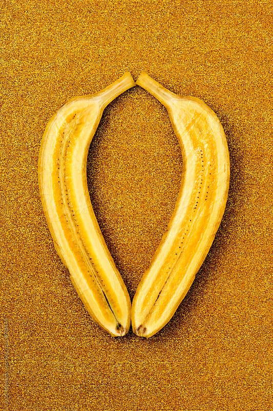 golden banana by juan moyano for Stocksy United