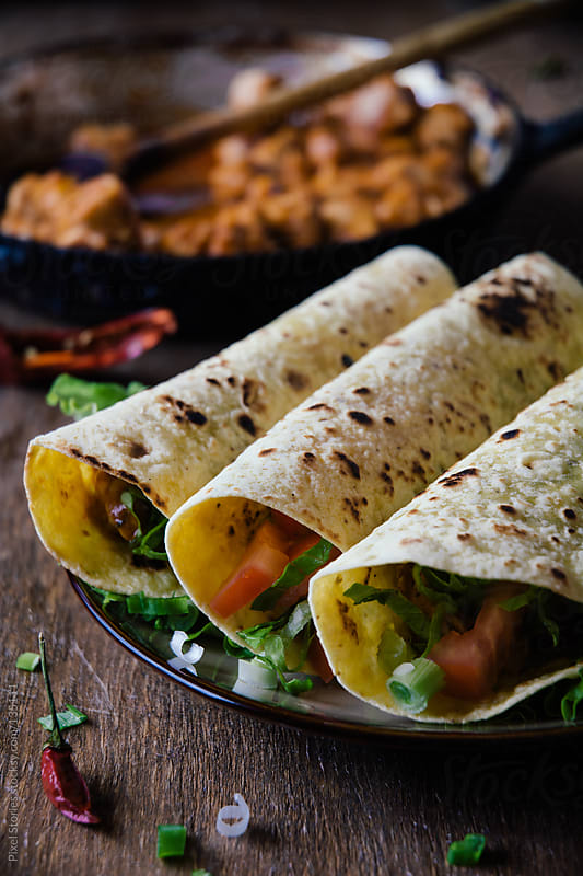 Delicious tacos by Pixel Stories for Stocksy United