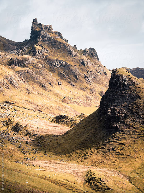 The Quiraing, Isle of Skye, Scotland by Richard Jones for Stocksy United
