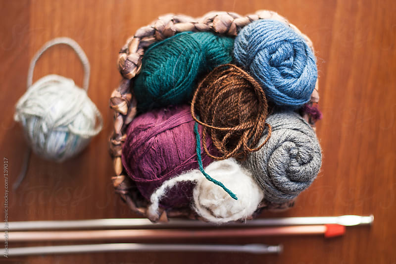 Wool Knitting  by Aleksandra Jankovic for Stocksy United
