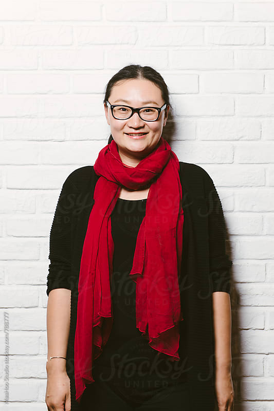 Portrait of young Chinese woman by MaaHoo Studio for Stocksy United