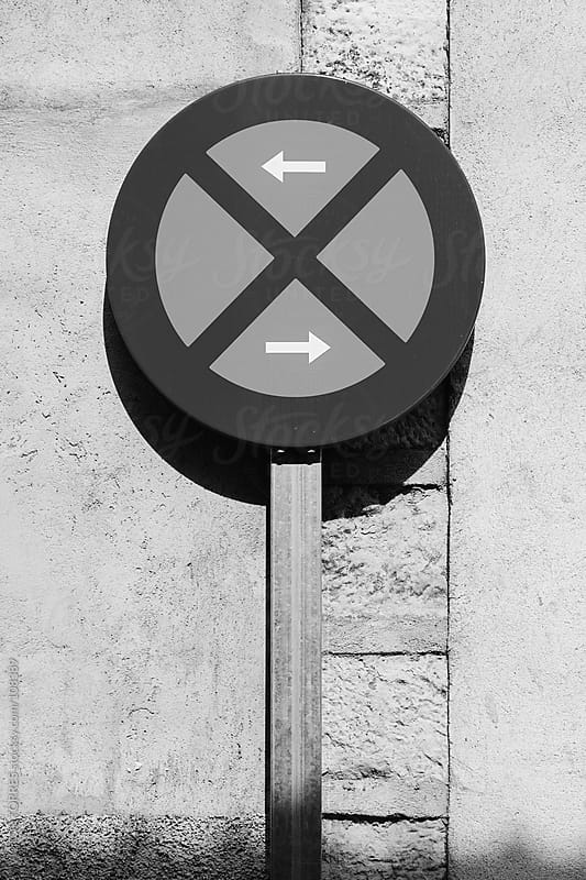 No Parking Sign by VICTOR TORRES for Stocksy United