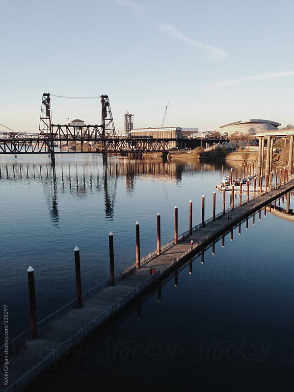 Willamette River by Kevin Gilgan for Stocksy United