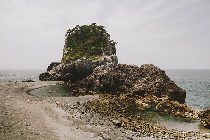 Niijima Islands Rocks by Yann AUDIC for Stocksy United