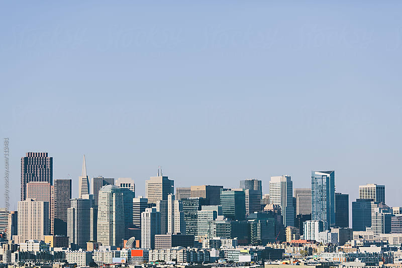San Francisco Skyline by Dylan M Howell Photography for Stocksy United