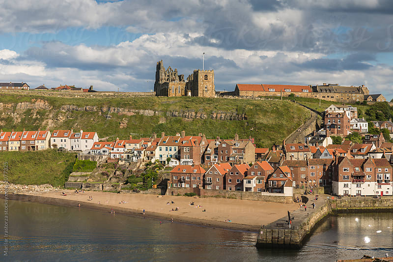 Town on the English coast by Marilar Irastorza for Stocksy United