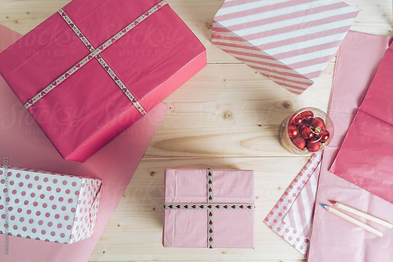 Pink Christmas by Aleksandra Jankovic for Stocksy United