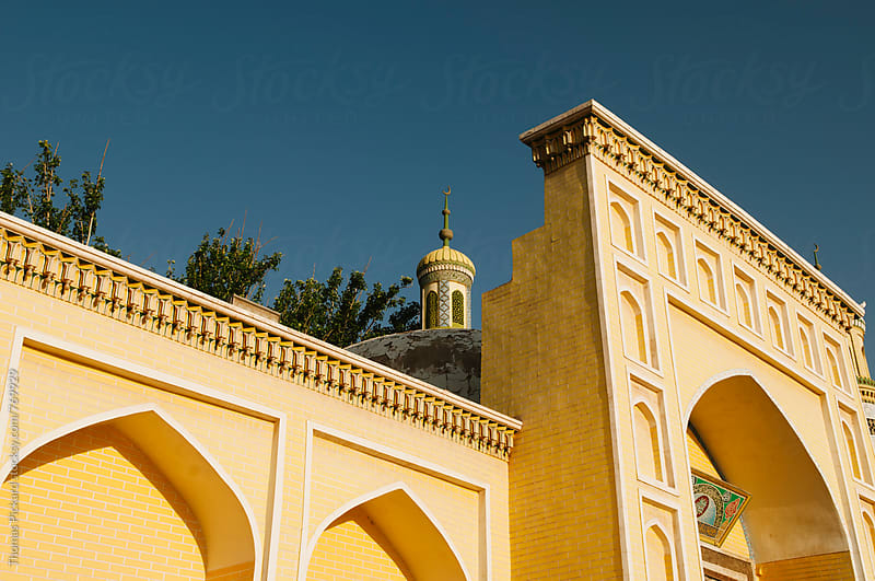 Id Kah Mosque minaret, Kashgar, China. by Thomas Pickard for Stocksy United