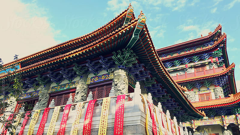 Temple in Hong Kong by Carlo Amoruso for Stocksy United