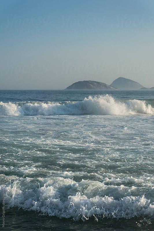 Ocean. Rio de Janeiro, Brazil by Mauro Grigollo for Stocksy United