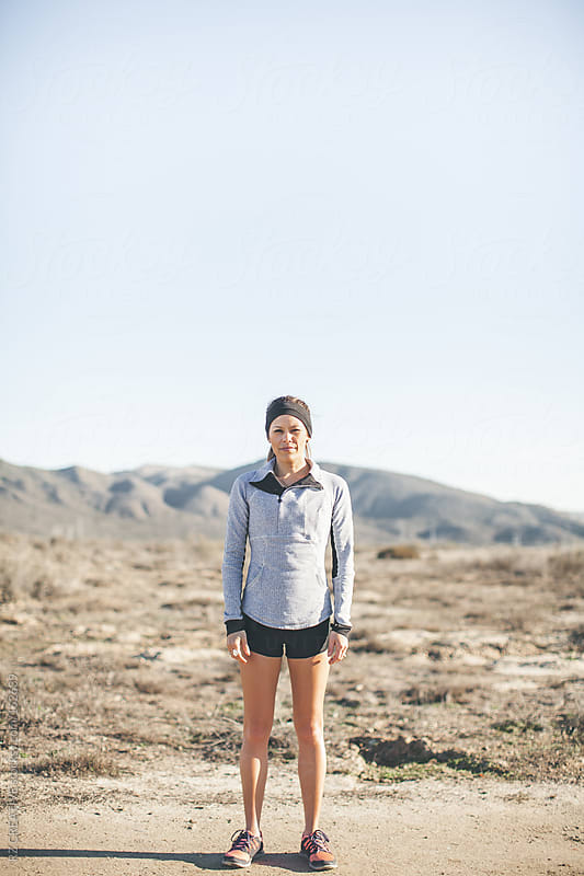 Portrait of a young fit woman outdoors. by RZ CREATIVE for Stocksy United