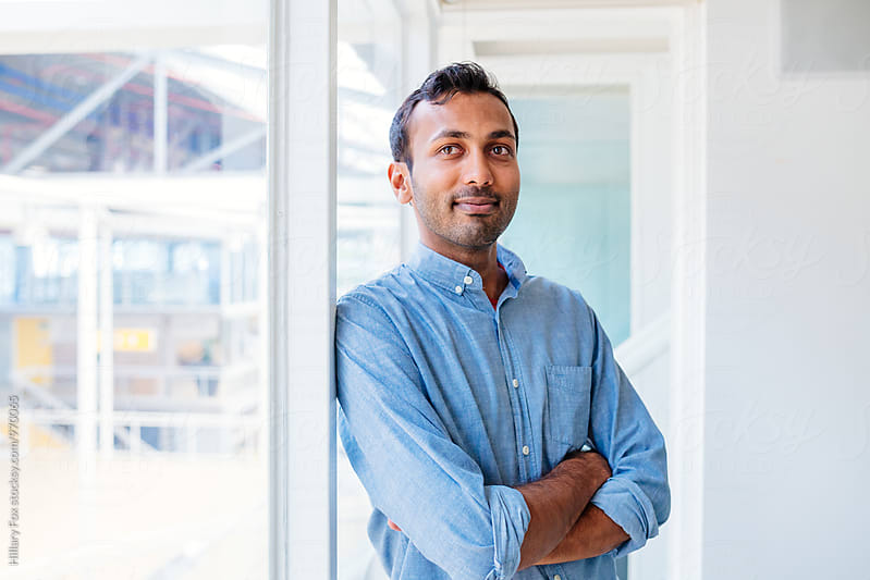 Indian Businessman by Hillary Fox for Stocksy United