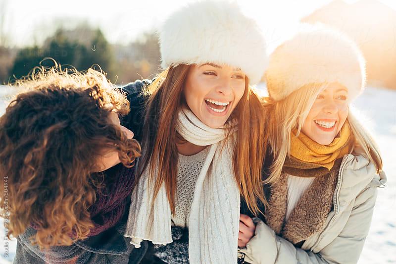 Winter fun. by Studio Firma for Stocksy United