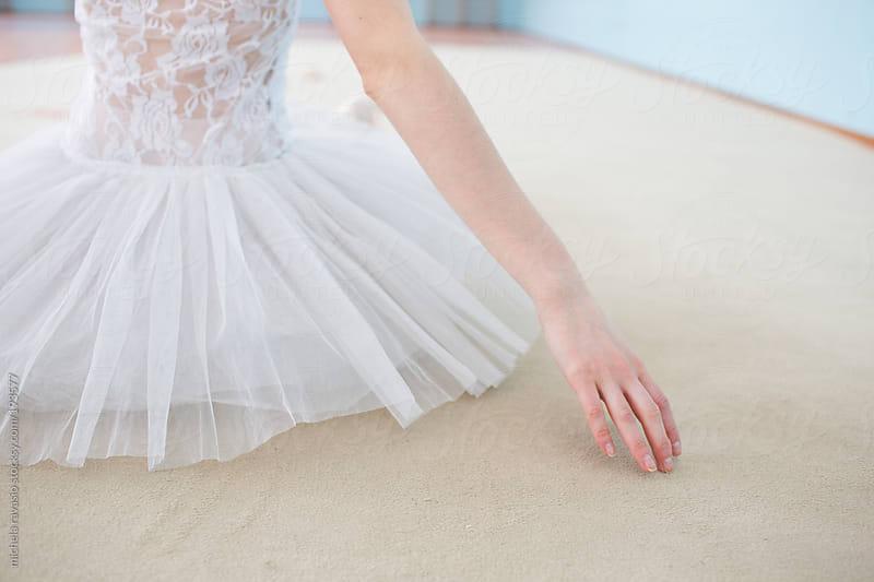 Detail of ballet dancer arm by michela ravasio for Stocksy United