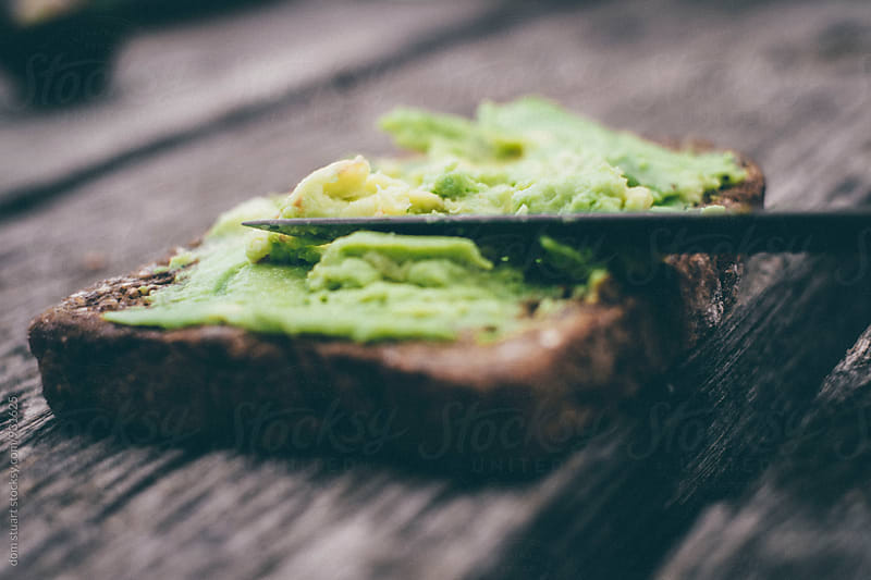 Avocado Toast by dom stuart for Stocksy United