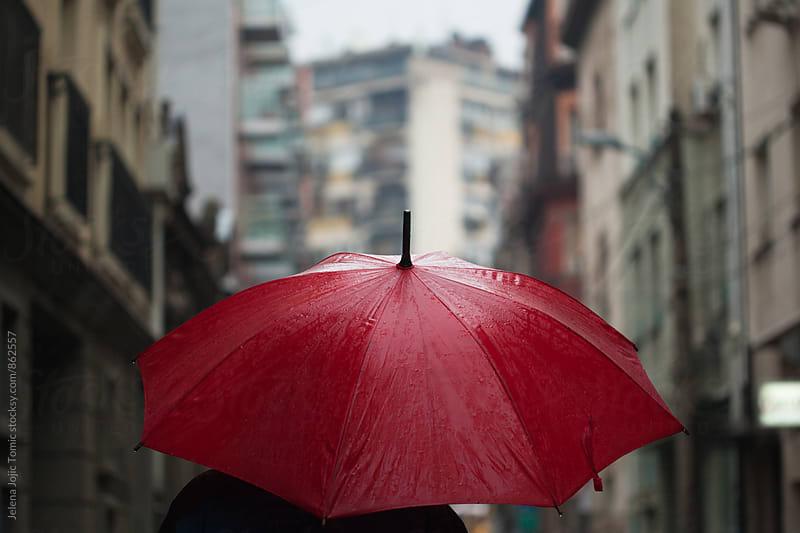 Rainy day  by Jelena Jojic Tomic for Stocksy United