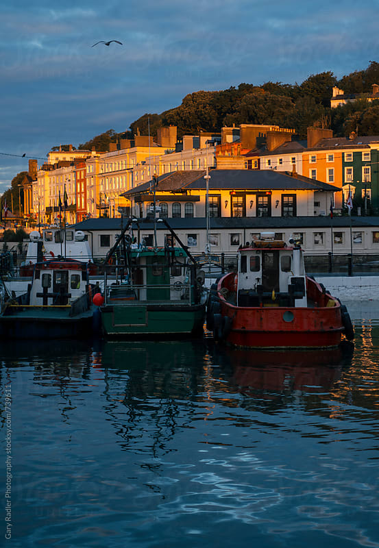 Fishing Boats Moored in Cobh, Ireland by Gary Radler Photography for Stocksy United