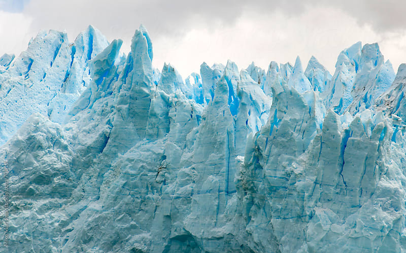 Perito Moreno glacier in Patagonia. by Mike Marlowe for Stocksy United